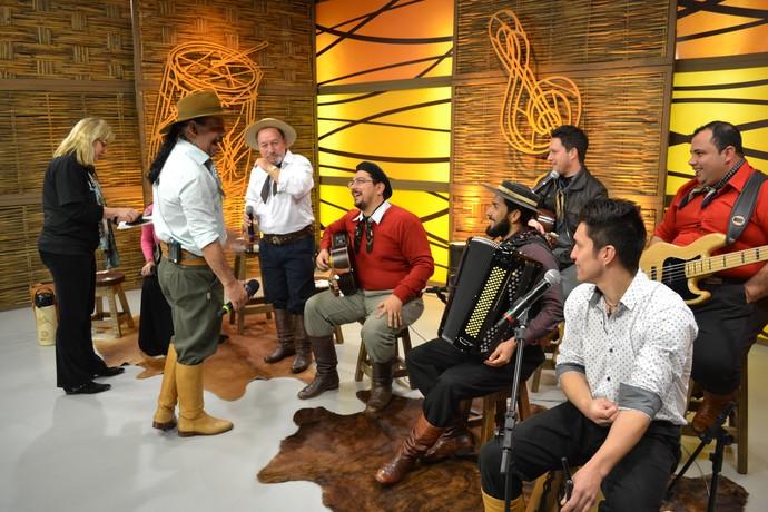Miguel Marques Galpão Crioulo (Foto: Gabriela Haas/RBS TV)