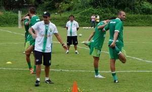 Mauricio Mandracio preparador físico do Cuiabá (Foto: Assessoria/Cuiabá Esporte Clube)
