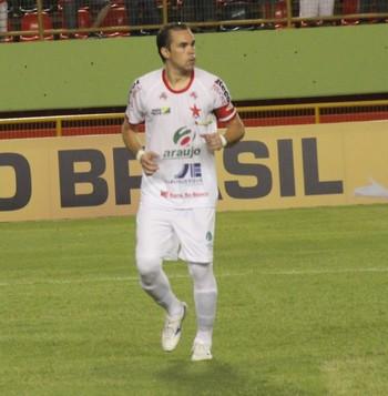 Rio Branco x Real Noroeste, pré-Copa do Brasil, Adriano Louzada (Foto: Duaine Rodrigues)