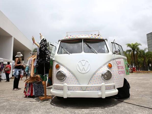 Mercado Mundo Mix ocorre na Estação Cultura em Campinas (Foto: Monica Bento)