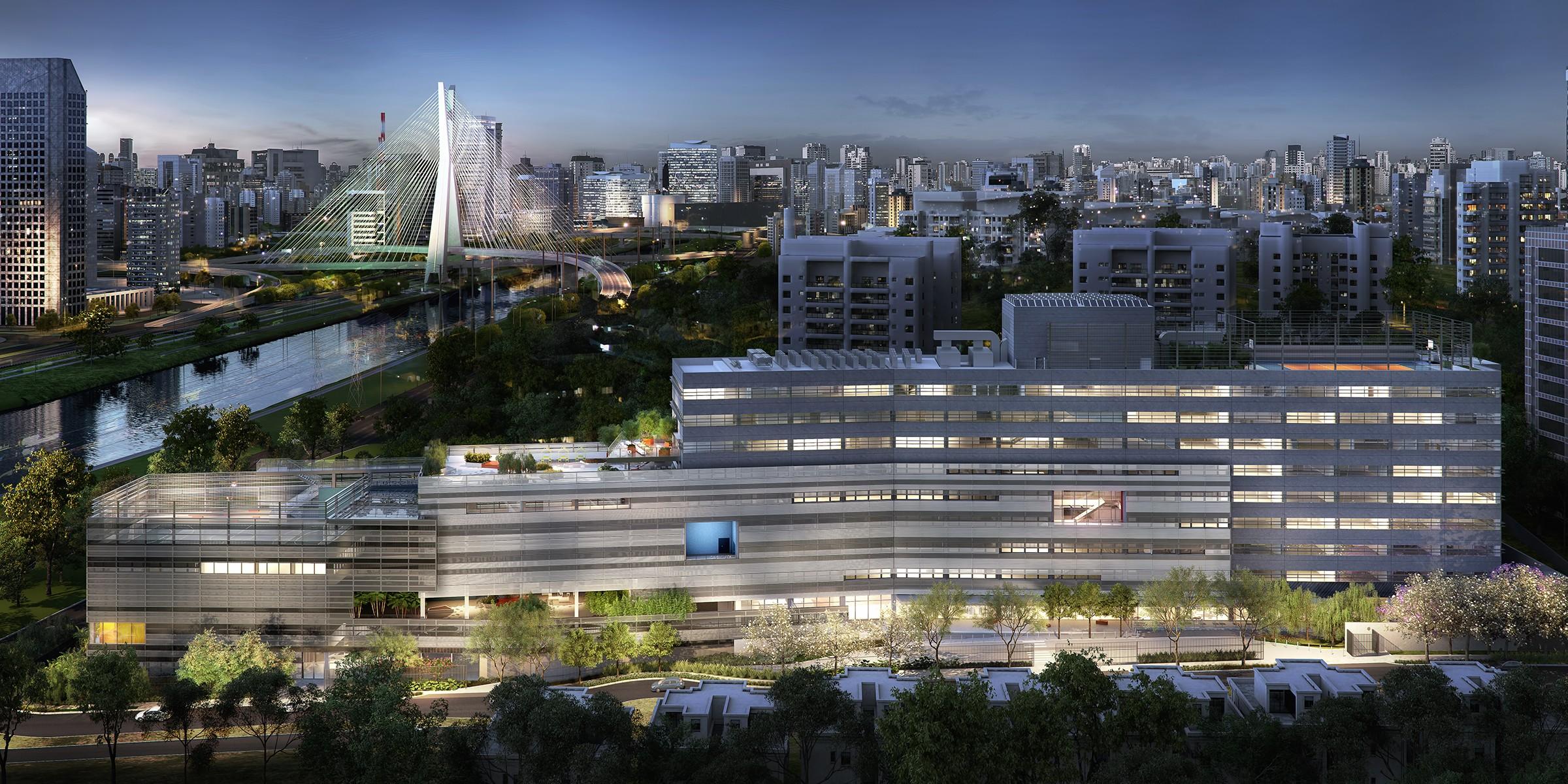 Projeto da sede paulista do Avenue - The World School, que está previsto para inaugurar em Agosto de 2018 (Foto: Divulgação)