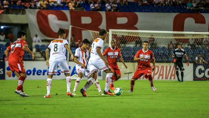 CRB x Oeste, no Rei Pelé (Foto: Ailton Cruz/Gazeta de Alagoas)