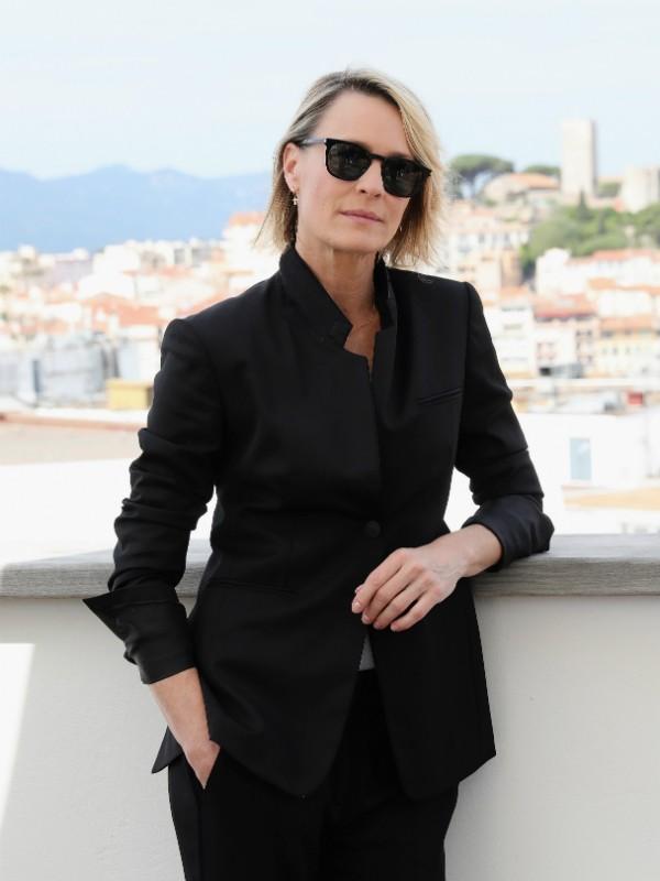 Robin Wright no Festival de Cannes 2017 (Foto: Getty)