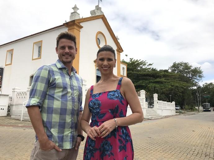 Santo Antônio de Lisboa fi o cenário do Mistura  (Foto: Mistura/RBS TV)