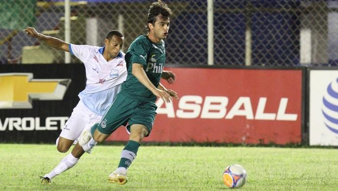 Grêmio Anápolis x Goiás no Jonas Duarte (Foto: O Popular)