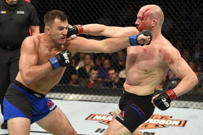 Gian Villante x Patrick Cummins UFC Long Island (Foto: Getty Images)