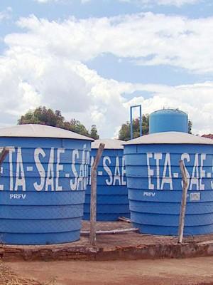 São João da Mata passa por racionamento de água (Foto: Carlos Cazelato / EPTV)