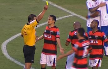 """Equipe de rádio não poupa árbitro em jogo da Série B:  """"No grito... roubado!"""""""
