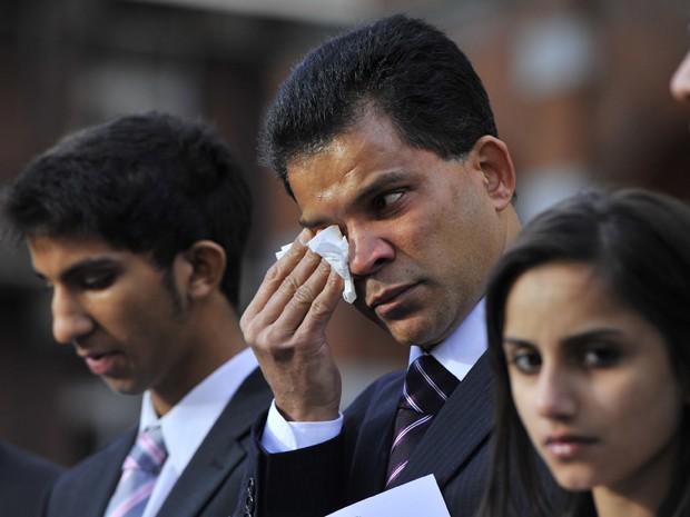 Família de Jacintha Saldanha (Foto: Reuters)