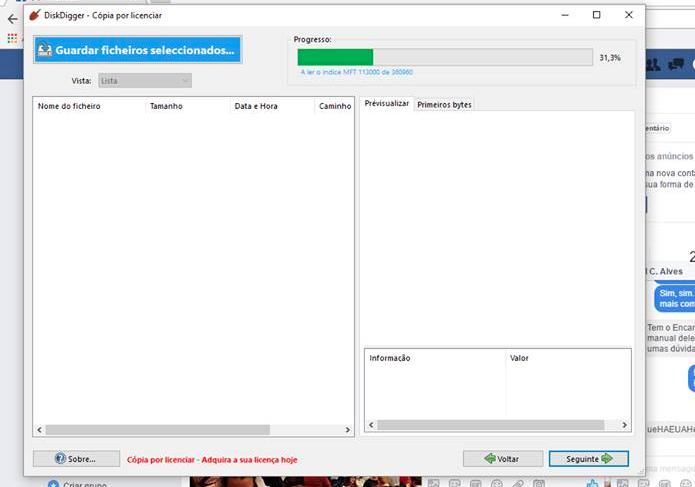 Como recuperar arquivos deletados com o DiskDigger (Foto: Reprodução/Felipe Vinha)