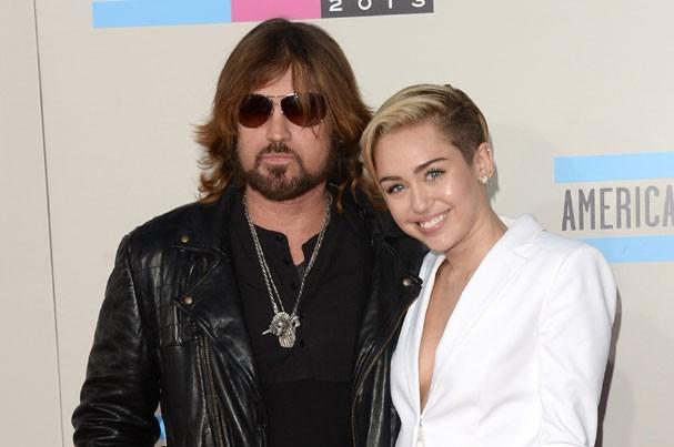 Billy Ray Cyrus e Miley Cyrus  (Foto: Jason Merritt/Getty Images)