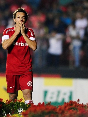 Dagoberto, atacante do Inter (Foto: Alexandre Lops / Inter, DVG)