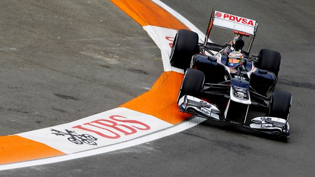 pastor maldonado williams gp da europa (Foto: Agência Getty Images)