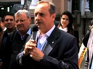 Candidato Vieira da Cunha (Foto: Reprodução/RBS TV)