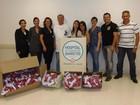Agentes da PF doam chocolates ao Hospital do Câncer de Jales