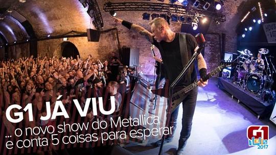 Metallica no Lolla: G1 viu estreia da turnê e adianta 5 coisas para esperar do show; VÍDEO