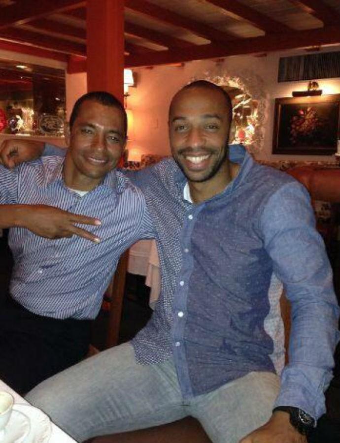 BLOG: Gilberto Silva e Thierry Henry se encontram no Rio de Janeiro