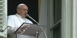 Na 1ª bênção do Ângelus, Papa fala sobre o perdão (Na 1ª bênção do Ângelus, Papa fala sobre o perdão (Reprodução Globo News))