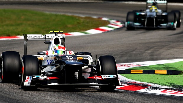 Sergio Perez GP da Itália  (Foto: Getty Images)
