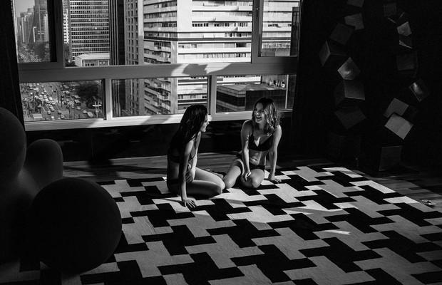 Yana Sardenberg e Mika Guluzian (Foto: Bruno Fioravanti / Instagram)