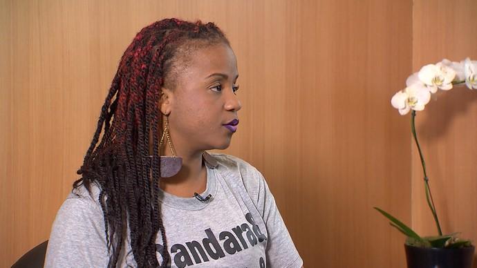 A jornalista Sueide Kintê é idealizadora da campanha 'Mais Amor Entre Nós' (Foto: TV Bahia)