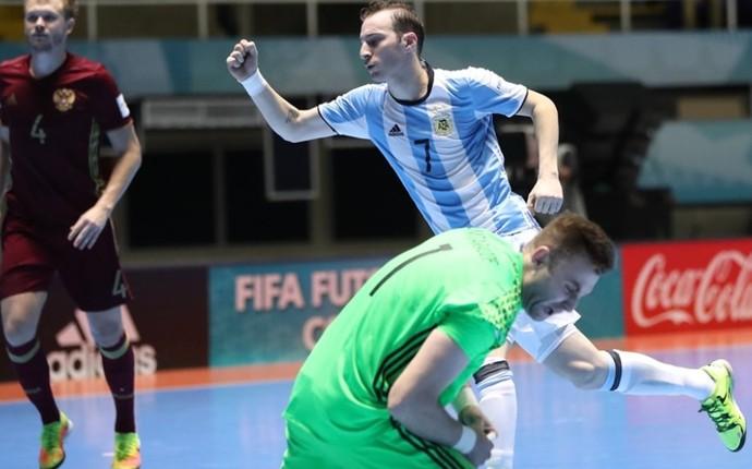 Rússia x Argentina final Mundial de Futsal (Foto: Getty Images/Fifa)
