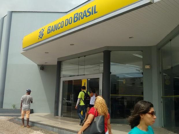 Greve dos bancários do Maranhão chega ao seu terceiro dia (Foto: Robert Oliveira/G1)