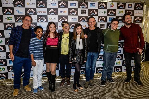 Elenco do filme Carrossel (Foto: Francisco Cepeda / AG News)