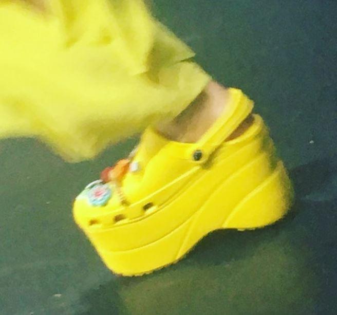 Crocs fashionistas: Balenciaga  (Foto: Reprodução/Instagram)
