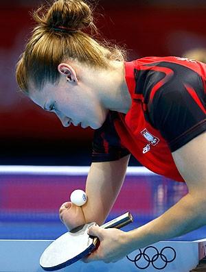 Natalia Partyka da Polônia, Tênis de Mesa (Foto: Agência Reuters)