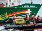 Rússia deverá indenizar Holanda por  apreensão de navio do Greenpeace
