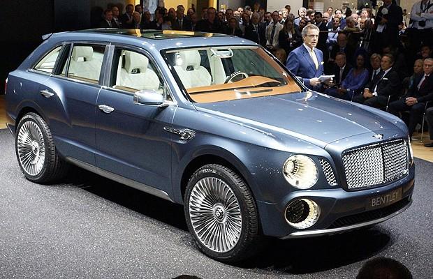 Bentley EXP 9 F concept (Foto: Divulgação)
