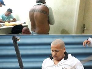 Leone Mendes da Silva, 23 anos, bateu em atleticano e foi preso (Foto: Raphael Zarko)