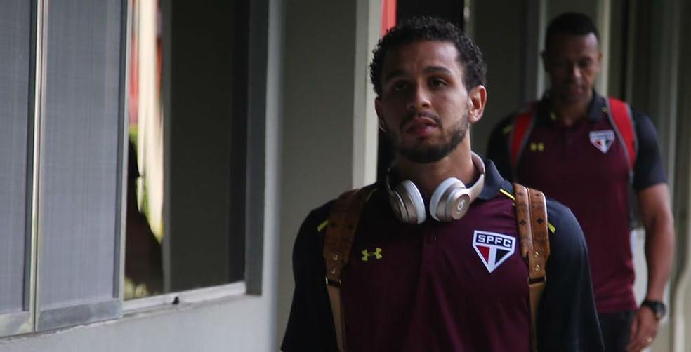 Wellington Nem deve ficar mais de um mês sem jogar (Foto: Rubens Chiri/saopaulofc.net)