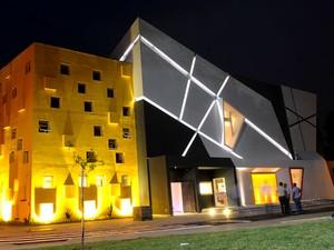 Fachada do Teatro Castro Mendes, de Campinas (Foto: Carlos Bassan / Prefeitura de Campinas)