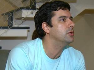 Eleitor Adriano Farah Ferraz Aranha foi impedido de votar neste domingo (26), em Paulínia (Foto: Reprodução / EPTV)
