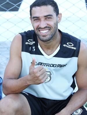 Paulista, atacante do Treze (Foto: Magnus Menezes / Jornal da Paraíba)