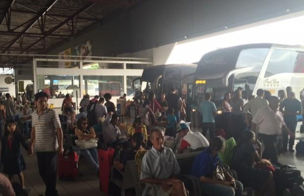 Rodoviária de Goiânia estima que pelo menos 150 mil passageiros devem passar pelo terminal, em Goiás (Foto: Murillo Velasco/G1)