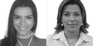 Wanessa Mattos (esq) e Pink fracassaram na eleição (Foto: Divulgação)