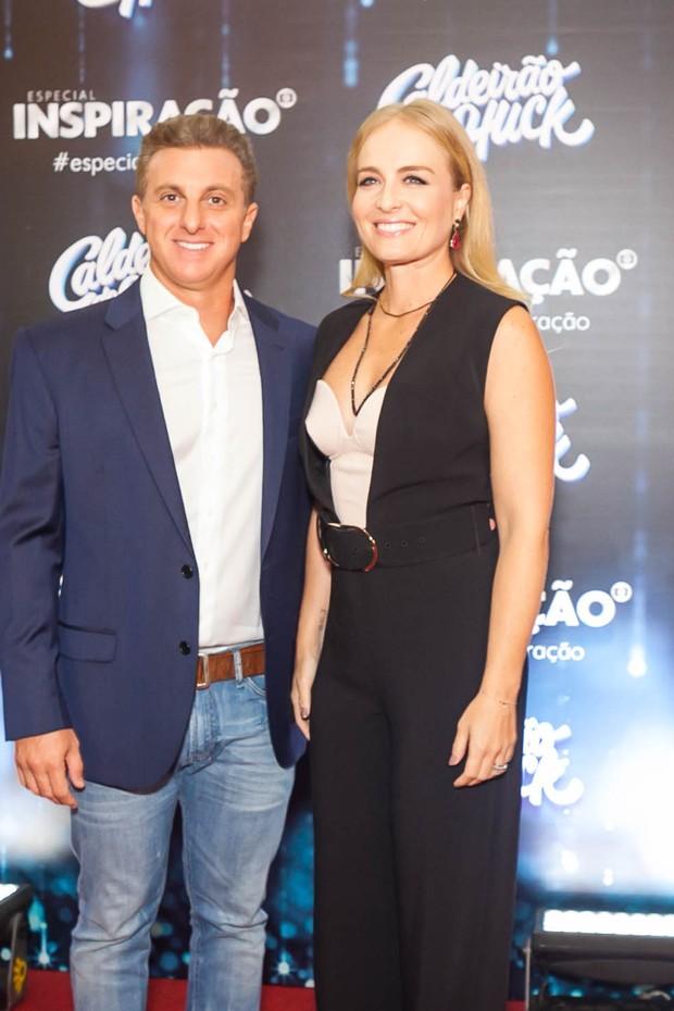 Angélica e Luciano Huck  (Foto: Anderson Barros / EGO)