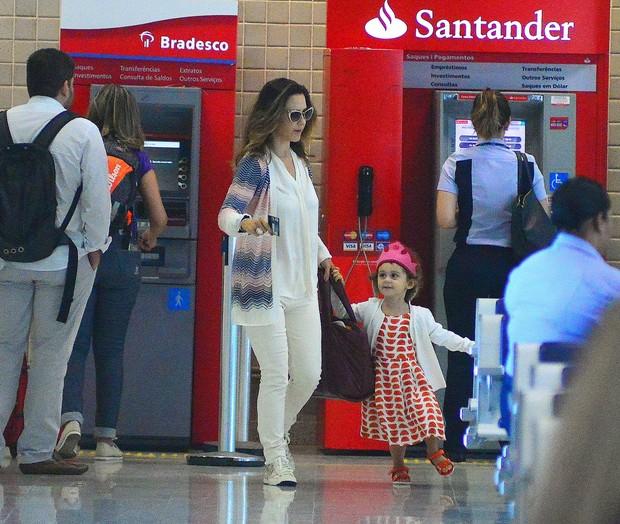 Guilhermina Guinle e a filha (Foto: AgNews)