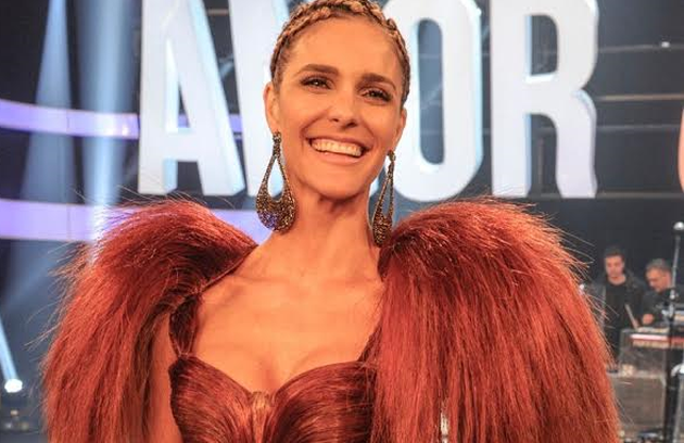 Outro look favorito de Fernanda foi o do episódio que tratou do macho (Foto: TV Globo)