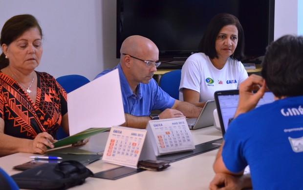 Visita técnica teve um saldo bastante promissor em Aracaju (Foto: Felipe Martins/GLOBOESPORTE.COM)