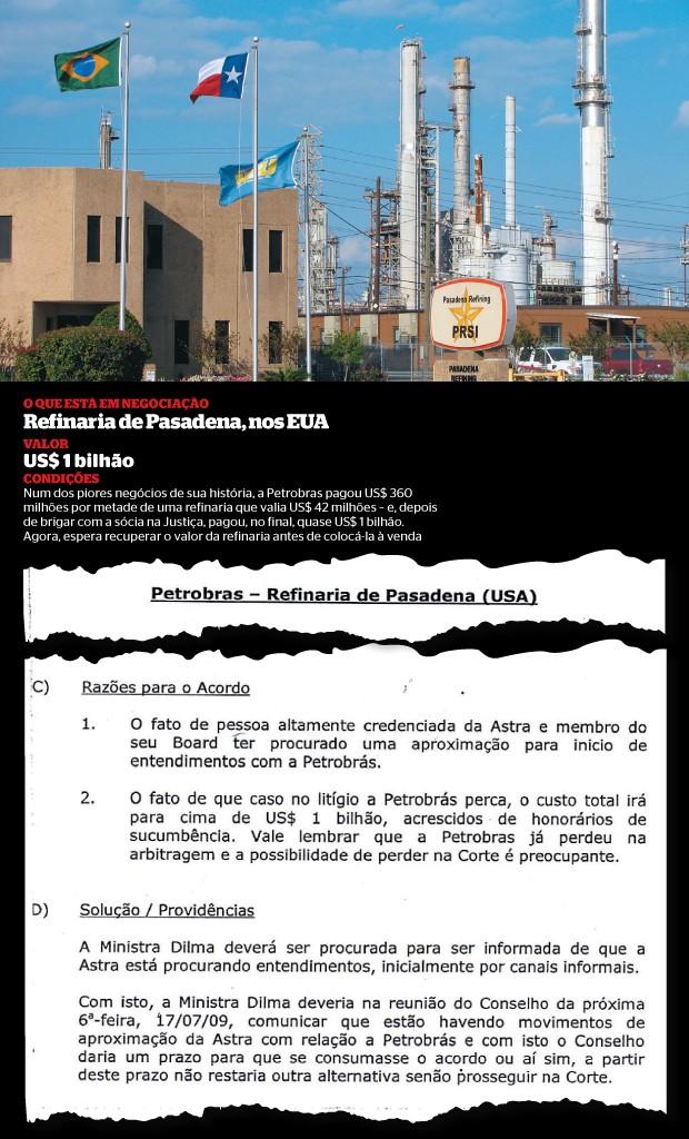 ERRO Refinaria de Pasadena. Os técnicos da Petrobras aconselharam a fazer acordo. Foram ignorados (Foto: Dave Fehling/Stateimpact Texas)