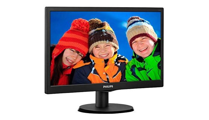 Monitor Philips 163V5LSB2 de 15,6 polegadas (Foto: Divulgação)