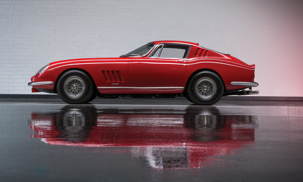1967 Ferrari 275 GTB/4 Berlinetta by Scaglietti  (Foto: Theo Civitello/Divulgação)