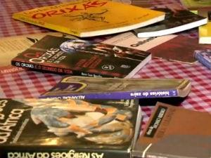 Quadro 'Autores e Leitores' (Foto: Reprodução/ TV Gazeta)