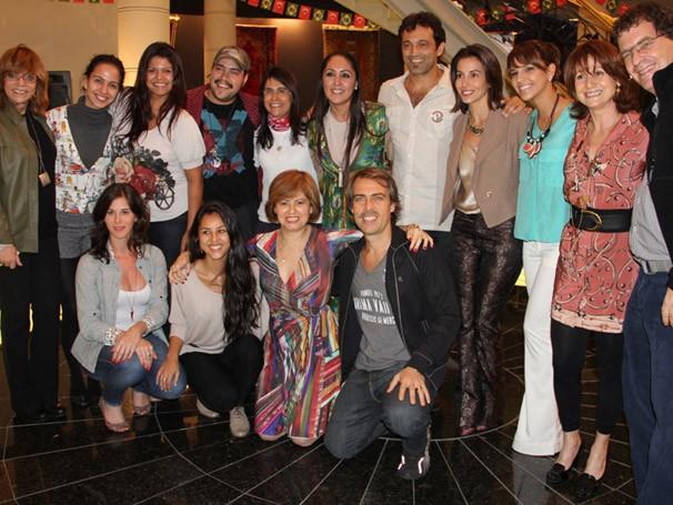 equipe (Foto: TV Globo/ Nathalia Fernandes)