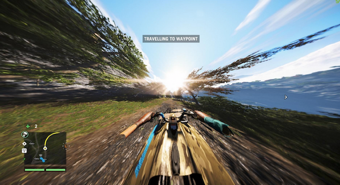 Versões pirateadas do game sofreram com problemas no visual (Foto: Reprodução)