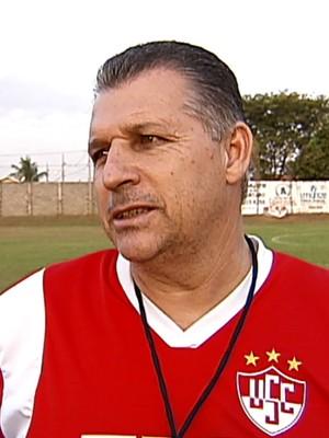 Zé Humberto treinador Uberaba Sport (Foto: Reprodução/TV Integração)